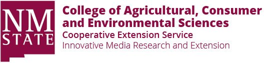 Logo: New Mexico State University - All About Discovery! (trademark) - College of Agricultural, Consumer and Environmental Sciences - Cooperative Extension Service