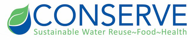 Logo: Conserve Sustainable Water Reuse-Food-Health