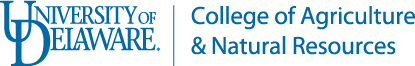 Logo: University of Delaware Coolege of Agriculture & Natural Resrouces